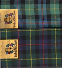 Tartan Sash Clan Farquharson Ladies Scottish Wool Plaid