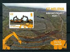 St Helena 2014 MNH Airport Project Pt I 1v S/S Aviation Stamps