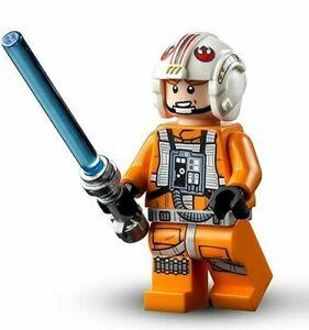 LEGO STAR WARS Luke Skywalker Pilot Minifigure from 75301 - New sw1139