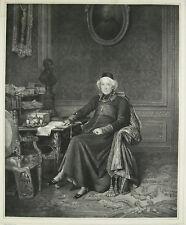 Jean BRUMAULD de BEAUREGARD Evèque d'Orléans Gravure Léon NOËL, P DUVAL-LECAMUS