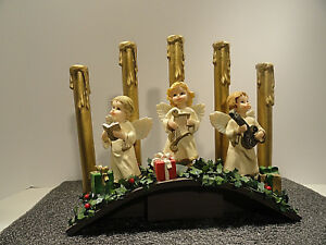 Angel Christmas Candelabra