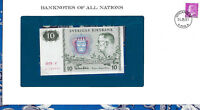 Banknotes of All Nations Sweden 10 Kronor 1979 serie V P-52d UNC BIRTHDAY 1989