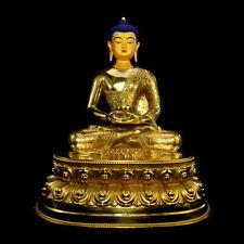 A Gilt-Bronze Buddha Statue of Amitabha Amida Amitayus Tibetan Buddhism Mahayana
