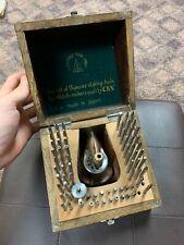 Vintage CKN Series 55 Piece Staking Tool Set Watchmaker Bench Watch Repair- NR