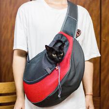 New Large Pet Dog Cat Carrier Travel Tote Single Shoulder Bag Sling Red