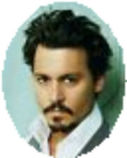 20 WATER SLIDE NAIL ART   TRANSFERS DECALS  JOHNNY DEPP