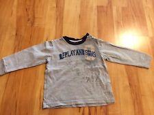 Replay & Sons Longsleeve T- Shirt Langarmshirt Gr. 80cm / 12 Mon