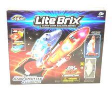 (6117) Lite Brix Building Block System - Star Shuttle and Launcher, Cra-Z-Art