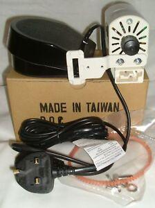 YDK Sewing Machine Motor & Foot Control/Pedal Fits Old Singer 99k 66k 201k