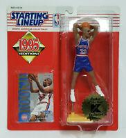 GRANT HILL Detroit Pistons SLU NBA Starting Lineup 1995 K Mart ROY Figure & Card