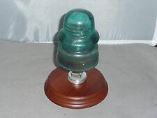 New listing Glass Insulator Insulator Mount Brookfield Insulator