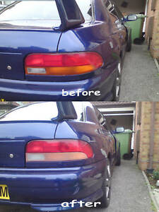 subaru impreza wrx / sti rear back lights sti lights Stickers