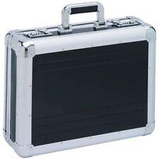 ATTACHE-CASE  VALISE MALLETTE  en aluminium noir    XL       > NOUVEAU<