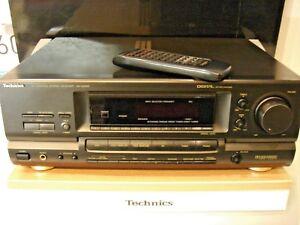 Technics SA-GX690 Stereo-Hifi Receiver mit Fernbedienung