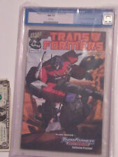 Cgc 9.2 Transformers: Generation 1 Preview (Htf old style Cgc case) Dreamwave