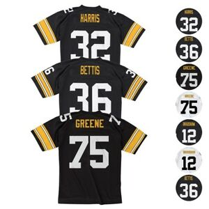 Pittsburgh Steelers NFL Mitchell & Ness Home/Road Legacy Jersey Collection
