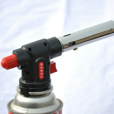 Camping BBQ Auto Ignition Flamethrower Burner Butane Gas Blow Torch