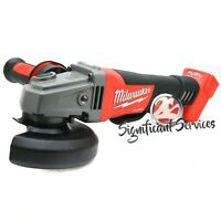 "Milwaukee M18 FUEL 2780-20 Cordless Brushless Grinder 4 1/2, 5"" Paddle 18 Volt"