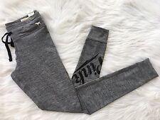 NWT Victoria's Secret PINK Cozy Campus Legging Yoga Pants Logo sz L