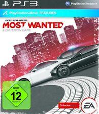 PlayStation 3 Need For Speed Most Wanted 2012 primera edición como nuevo