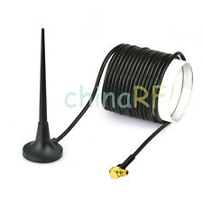 3,5 dB 3G / GSM / UMTS / HSUPA ANTENNA MMCX PLUG MASCHIO angolo retto per wireless e dispositivi