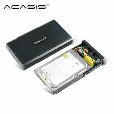 "3.5 "" HDD Enclosure USB 2.0 SATA IDE External Hard Drive Disk Enclosure 10TB US"
