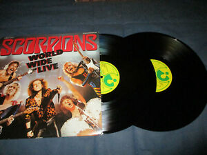 Scorpions World Wide Live Doppel LP