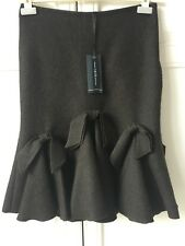 BNWT Pringle wool contour Skirt with bow details Size 8