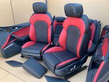 Audi A6 C7 4G S6 S-Line EXCLUSIVE Sport Lederausstattung Leder Sitze Seats NEU