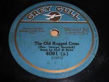 Hall & Ryan: The Old Rugged Cross / Bob Litchfield: Beyond 78 - Grey Gull 4091