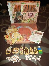 Dinosaurs Gotta Love Me! 3-D Board Game 1991 MB Disney #4131 *NEAR COMPLETE*