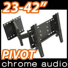 "23-42"" LCD Plasma TV Bracket Pivot BRICK Wall Mount"
