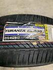 2 New 215 45 17 Bridgestone Turanza El400-02 Nos Tires
