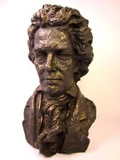 Vintage 1961 Beethoven Bust Sculpture By: E. Schillaci Austin Prod. Excellent!