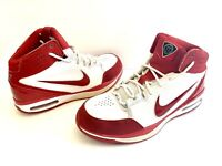 2009 Nike Basketball Dream White/ Red Size 10.5 High Top Shoes 366809-161