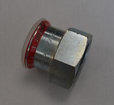 GEBERIT Mapress 21814 Übergangsstück 42mm x R1 1/2 IG C-Stahl Fitting unbenutzt
