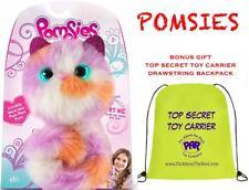 Pomsies KALI Plush Interactive Toy, EXCLUSIVE w/ BONUS TOY BAG