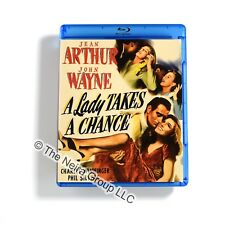 A Lady Takes A Chance Blu ray New Jean Arthur John Wayne Charles Winninger