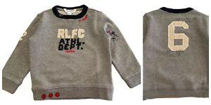 Baby boys Ex Ralph Lauren Long sleeve Sweatshirt 3 6 9 12 18 24 Genuine