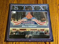 STYX PARADISE THEATER ORIGINAL FIRST PRESS LP STILL FACTORY SEALED ~ 1980