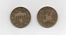 Rare - 2.5 euros de Berlin 1997 Allemagne- Pré euro ville