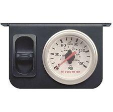 Firestone 2229 Electrical Air Pressure Gauge 2-1/16 In. Dia White Face