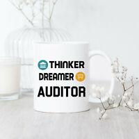 Thinker Dreamer Auditor Mug Auditor Mug Auditor Gift Auditor Coffee Mug New