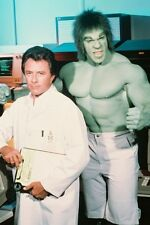Lou Ferrigno Bill Bixby The Incredible Hulk color 11x17 Mini Poster