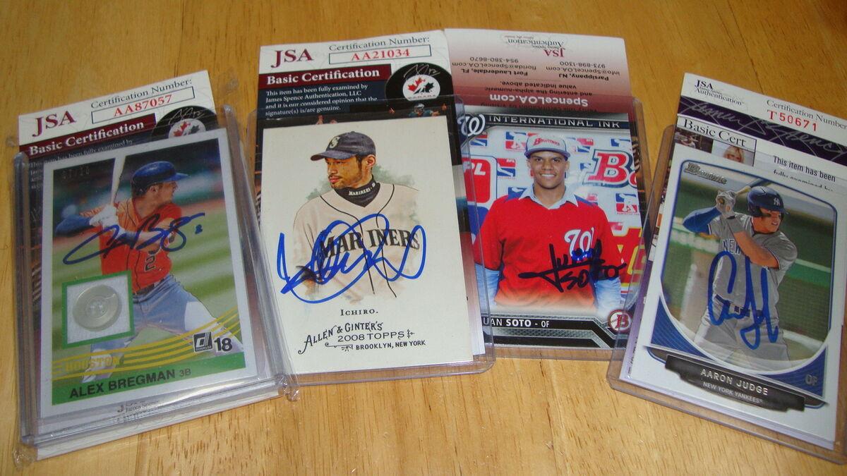 S&D's MLB Autographs