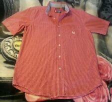Nice CHAPS Red Plaid Short Sleeve Shirt. SMALL. A MUST HAVE! Excellent Condition