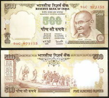500 Rupees Y.V. Reddy Gandhi A Inset @ Uncirculated Condition (H-13)