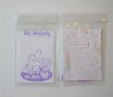 10pcs 7x10cm My Melody Pattern Ziplock Polybag Reclosable Resealable Bags