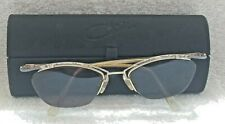 Germany Cazal Mod 404 Eyeglasses Half Rimless Frame & Case