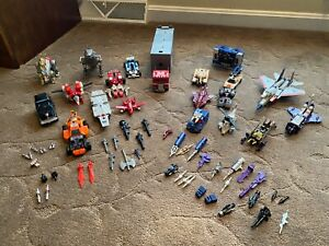 Hasbro Transformers G1 Vintage lot including weapons